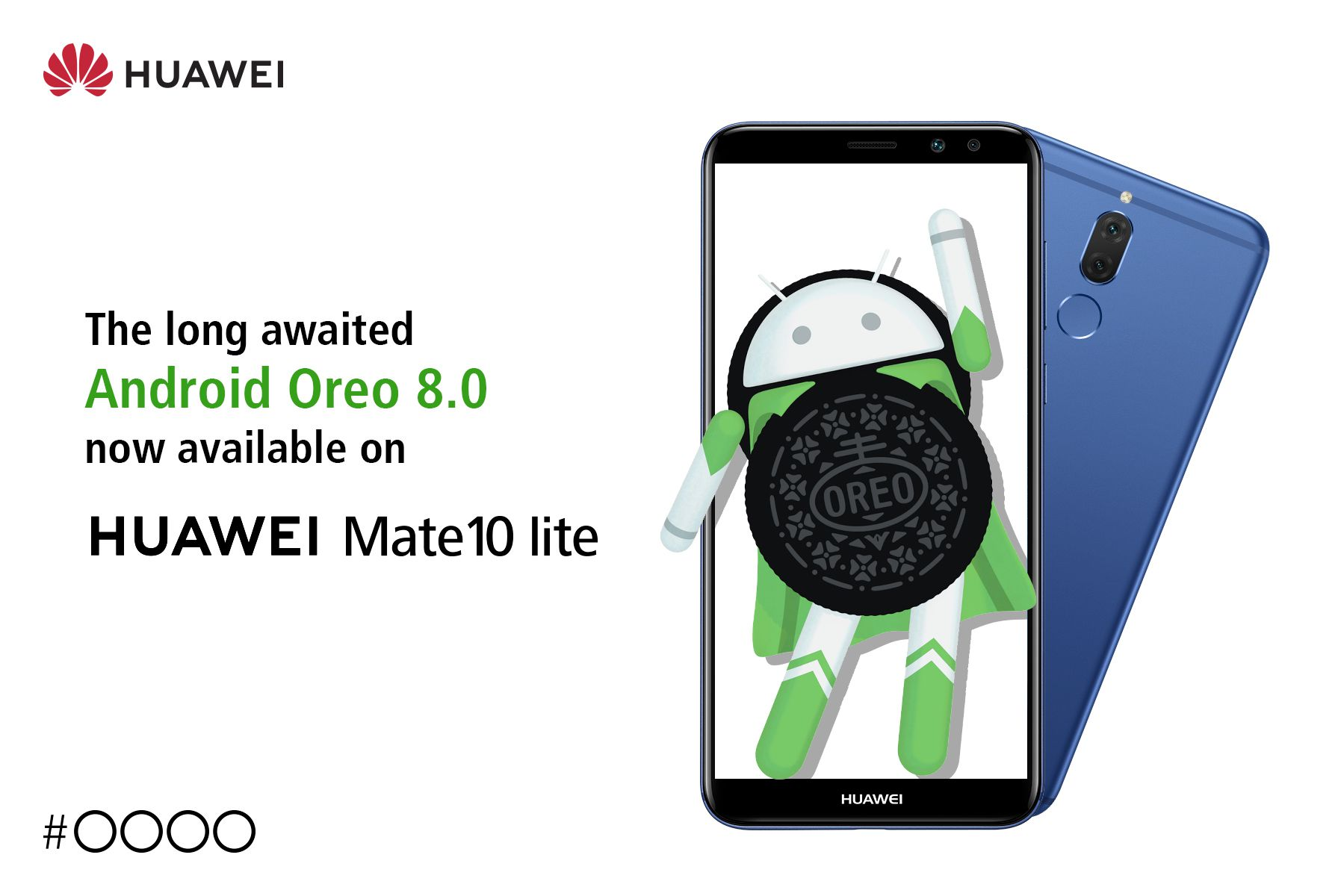HUAWEI Mate 10 lite gets EMUI 8.0 with Android Oreo 8.0
