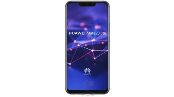 Leaked Detailed Press render shows major specs of the Huawei Mate 20 Lite