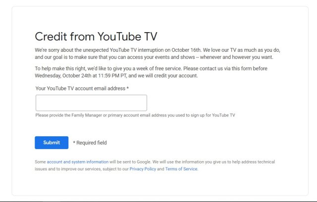 Youtube mail