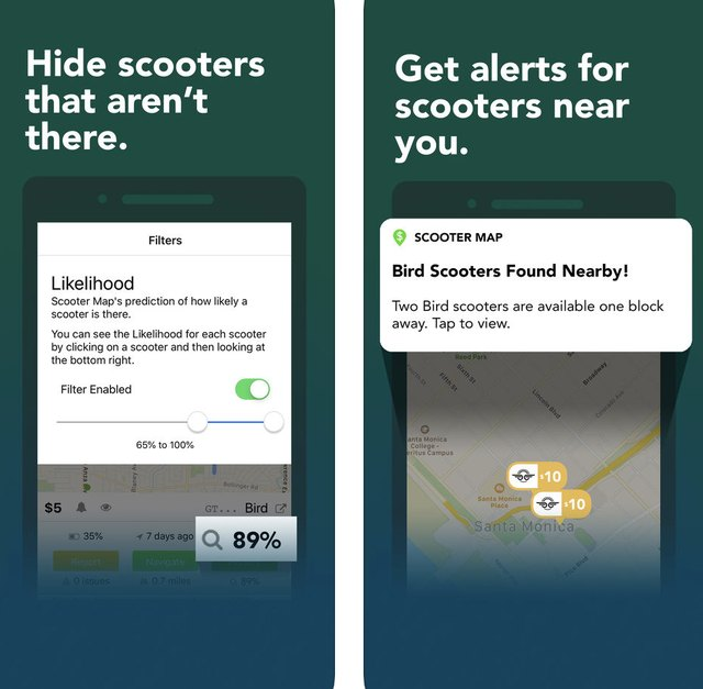 Scooter Maps