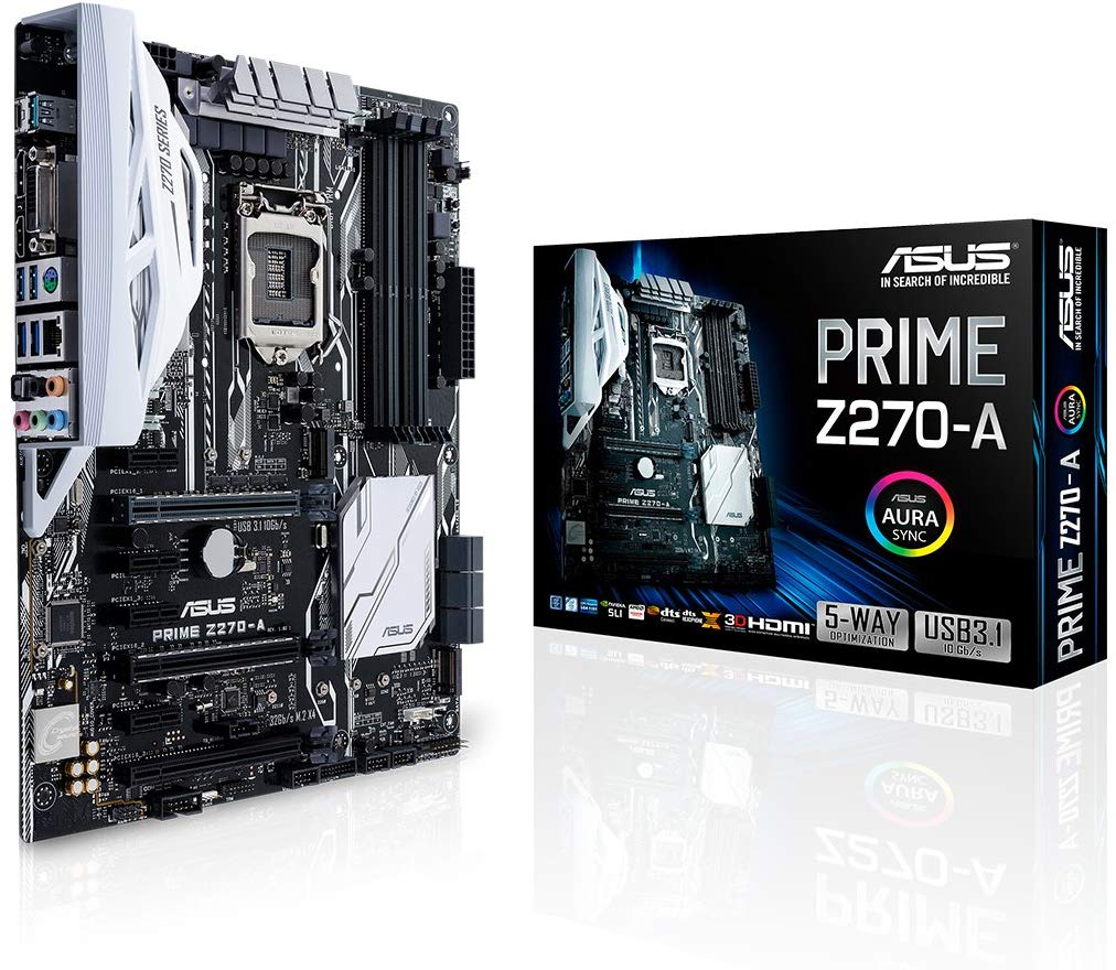 Asus Prime Z-270A ATX Motherboard