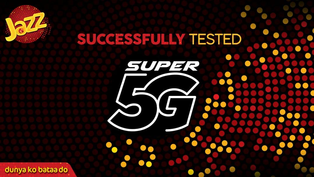 5G Banner - Jazz Successfully Conducts 5G Tests