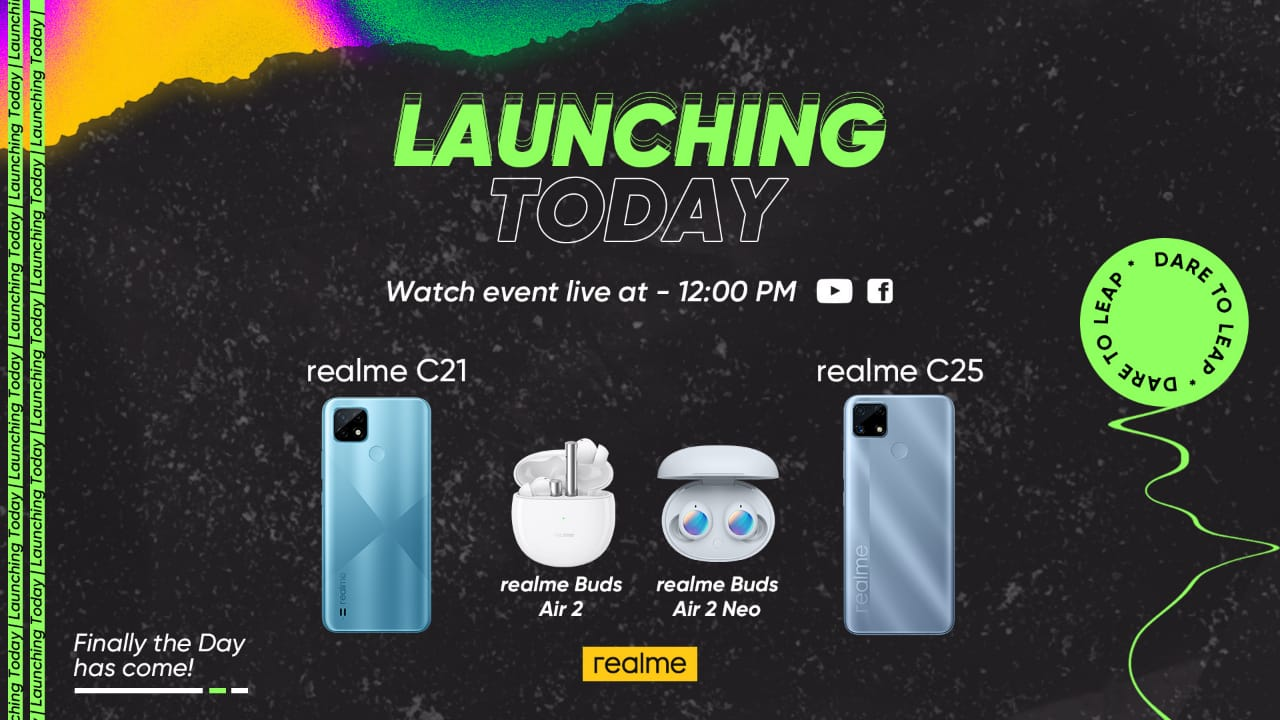 Artwork 1 - realme C25 with 48MP AI Triple Camera and 6,000mAh Battery launched in Pakistan