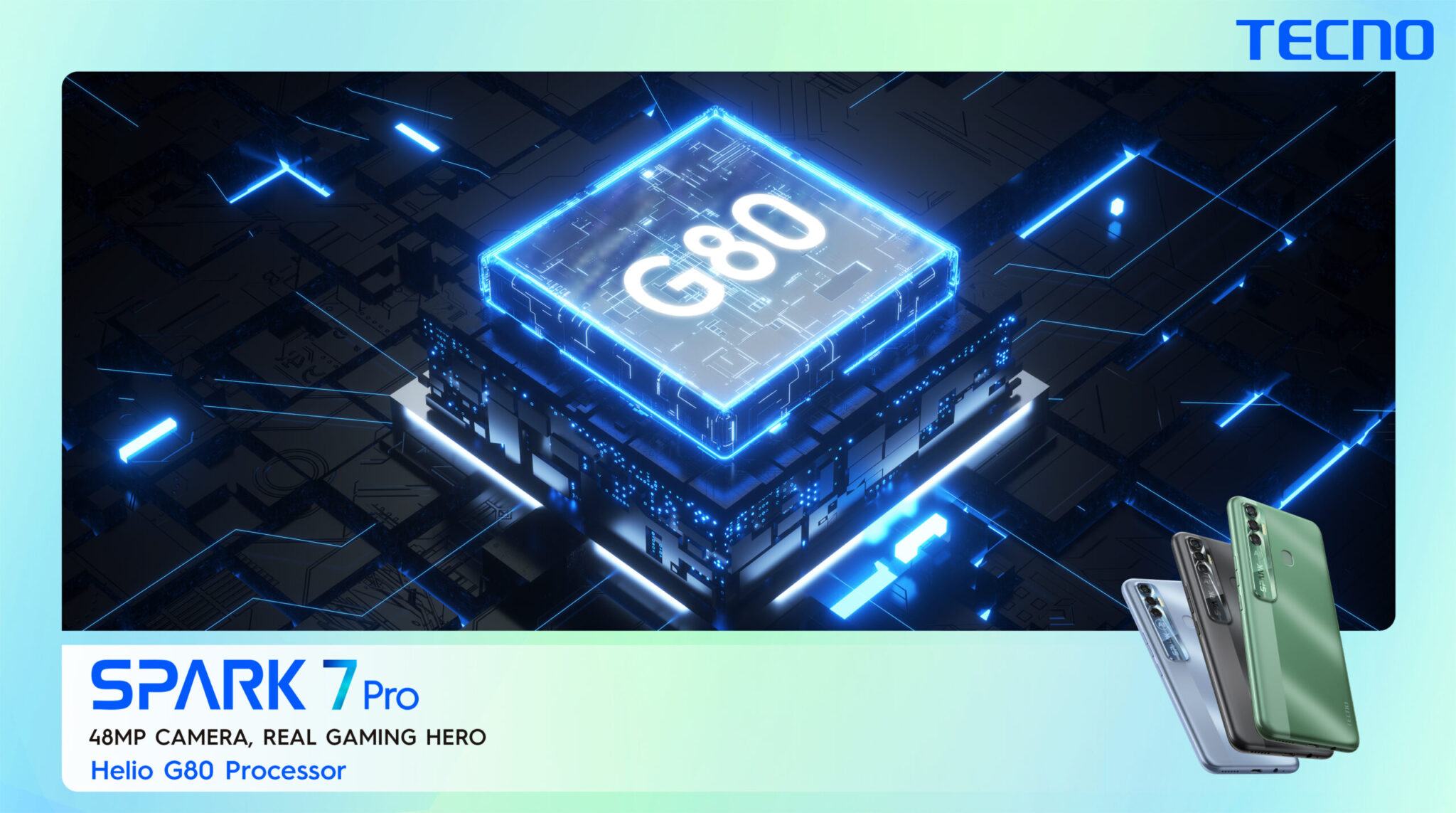 Art work 2 scaled - The Gaming King TECNO Spark 7 Pro now available in the Offline market