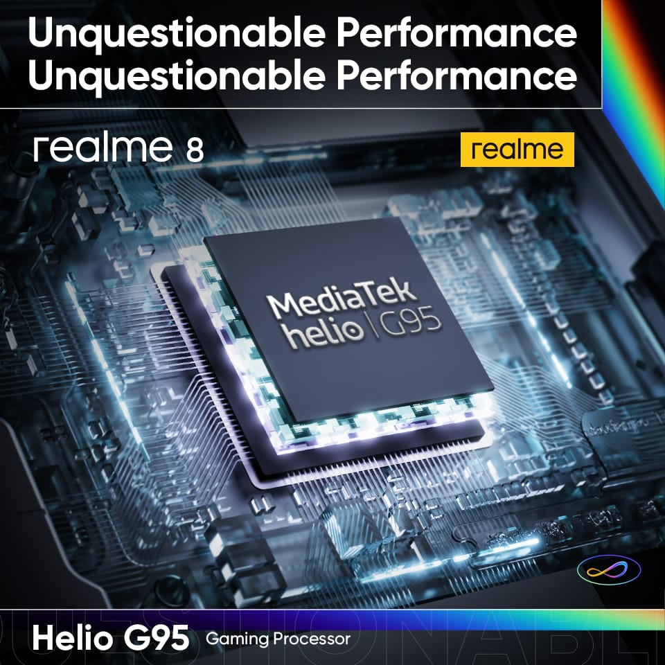 Realme 8 - The Gaming Beast realme 8 is Now Available Across Pakistan