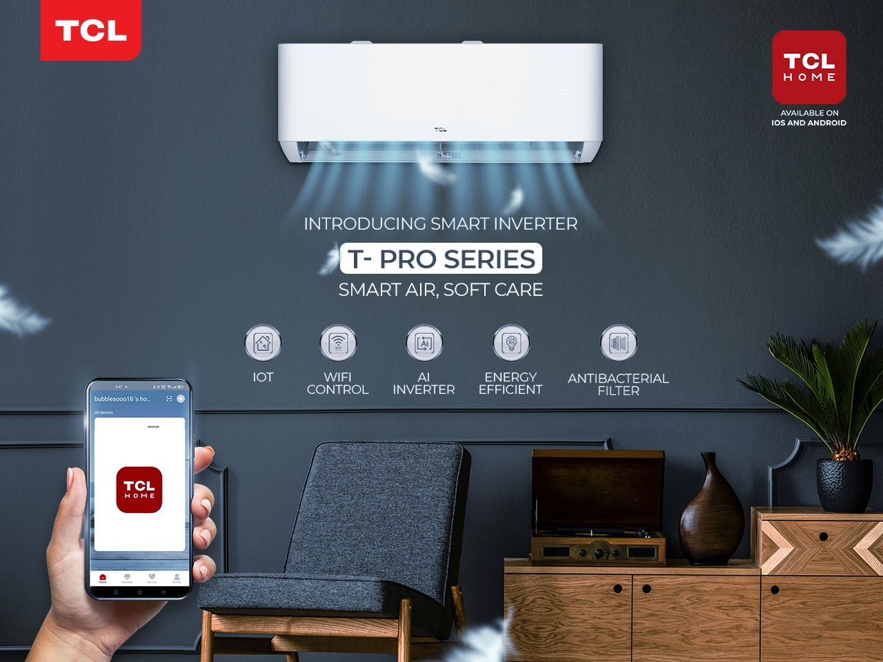 WhatsApp Image 2021 05 25 at 8.30.39 PM - TCL Pakistan Launches T- Pro T3 Full DC Inverter AC with IoT Wi-Fi for a Smarter Living