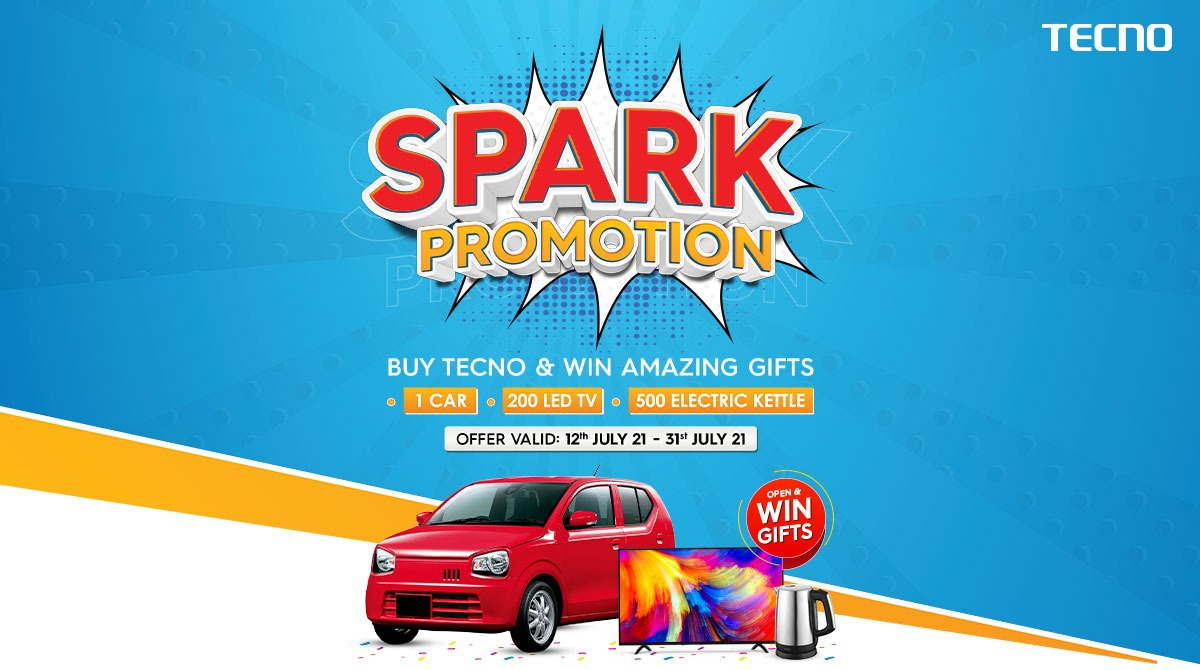 Artwork - Win a CAR with TECNO Spark Promotion