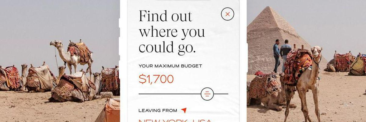 elude - Elude matches travelers with trips that fit their budgets