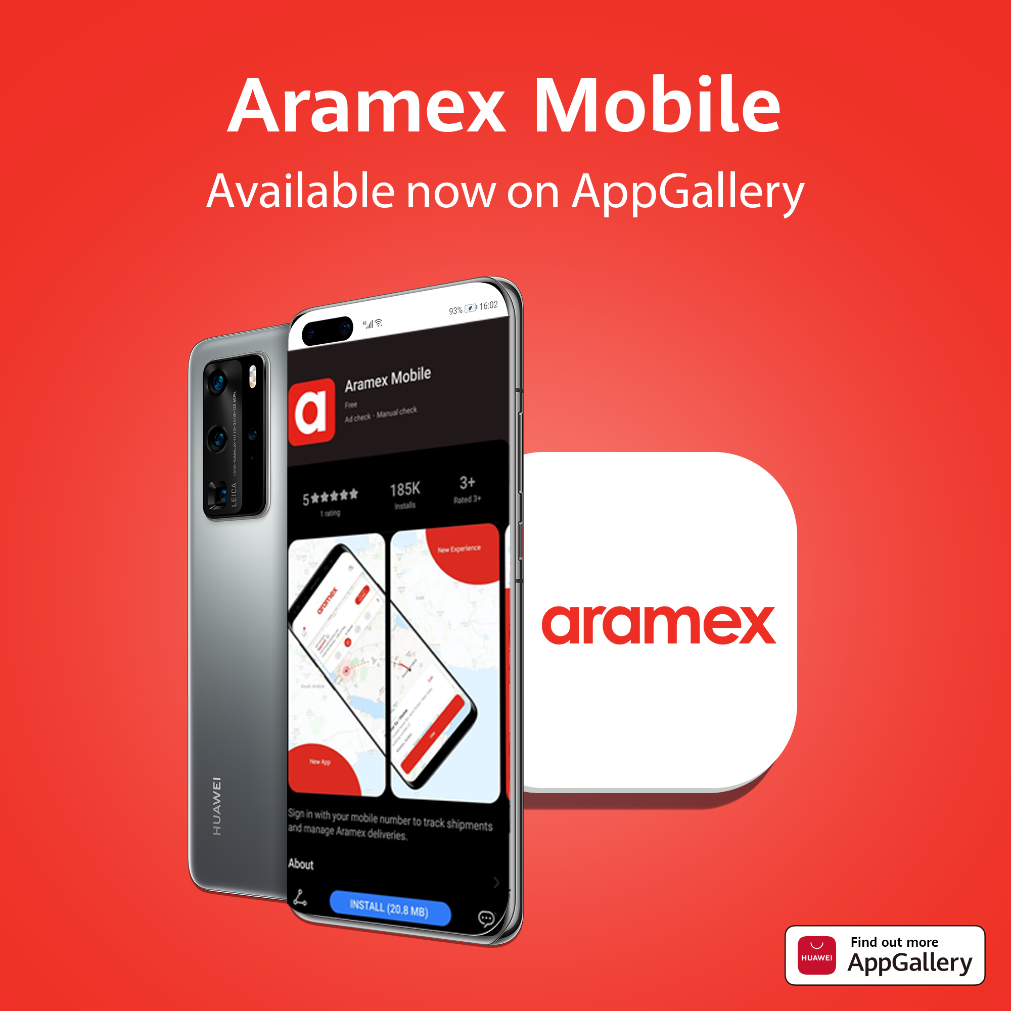 Aramex1 - AppGallery expands its app offering by adding Aramex Mobile App
